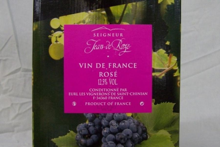 Vin de table Rosé